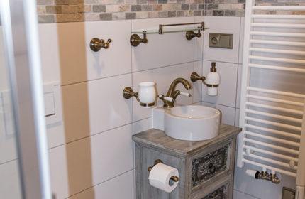 Koupelna - Penzion Kopejtkův mlýn
